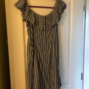 American eagle off the shoulder dress